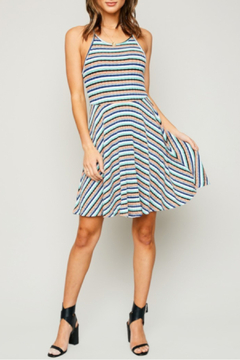Hayden Los Angeles Multicolor Stripes Dress - Product List Image