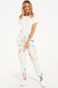 Z Supply  Multicolor Tie Dye Jogger - Product List Image