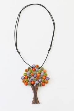Sylca Multicolor Tree Necklace - Alternate List Image