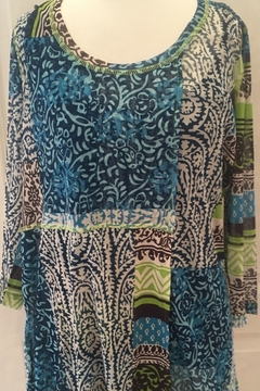 Lynn Ritchie Multicolored 2-piece tunic top - Product List Image