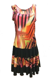 Softworks Multicolored Flared Dress - Product Mini Image