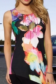 Frank Lyman  Multicolored floral tunic top - Product Mini Image