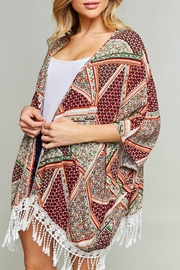 LLove USA Multicolored Kimono - Product Mini Image