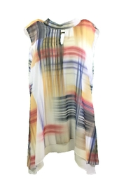 Michael Tyler Collections Multicolored Sleeveless Tunic - Product Mini Image