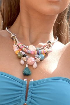 Chynna Dolls Multicolored Statement Necklace - Alternate List Image
