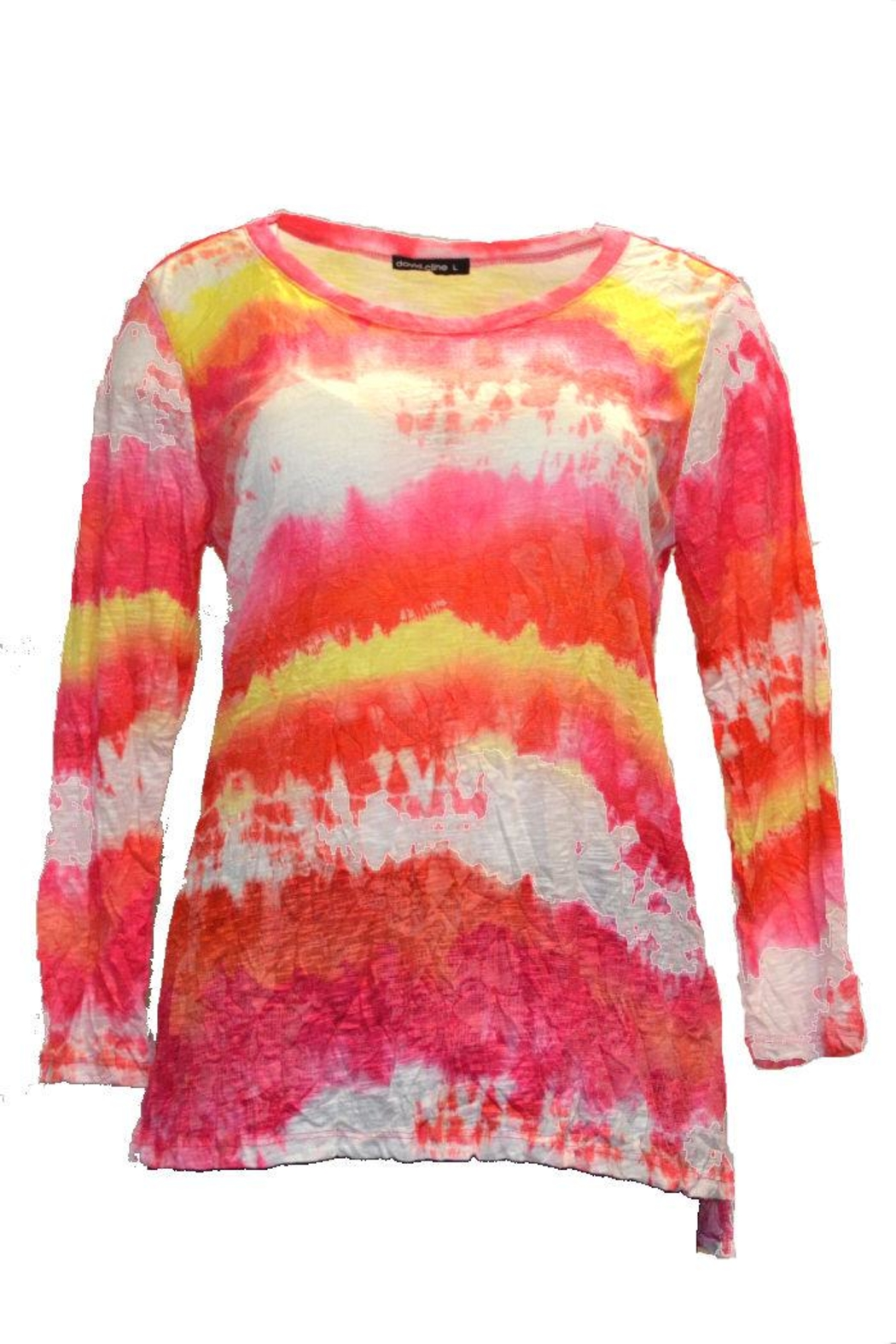 David Cline Multicolored Top - Front Cropped Image