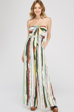 Shoptiques Product: Multicolored Tube Jumpsuit