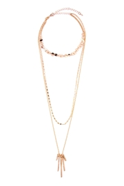 Riah Fashion Multilayer Necklace - Product Mini Image