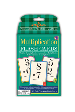Eeboo Multipication Flash Cards - Product List Image
