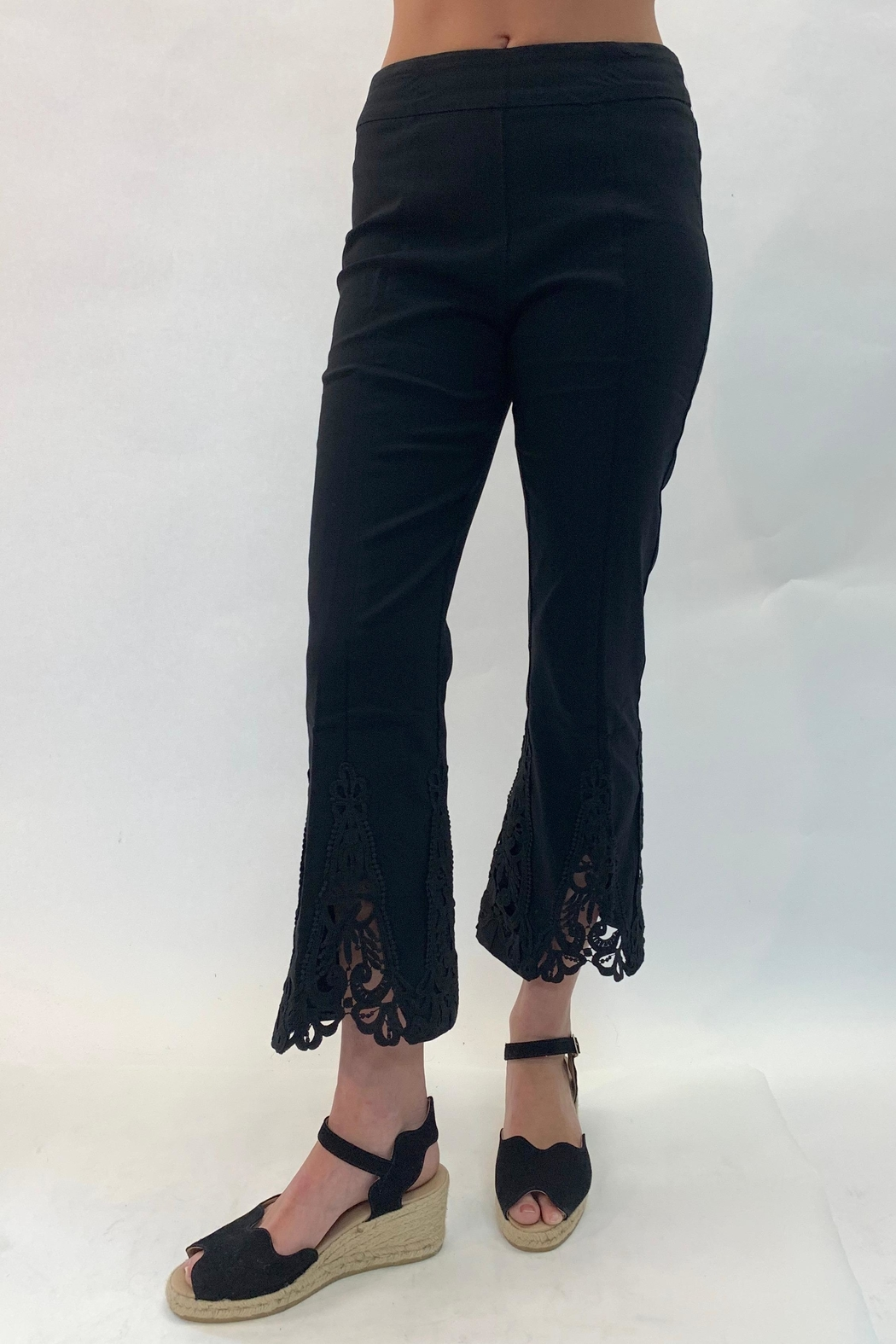 Multiples Lace Detailed Pant - Main Image