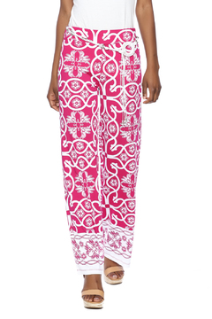 Multiples Palazzo Print Pant - Product List Image