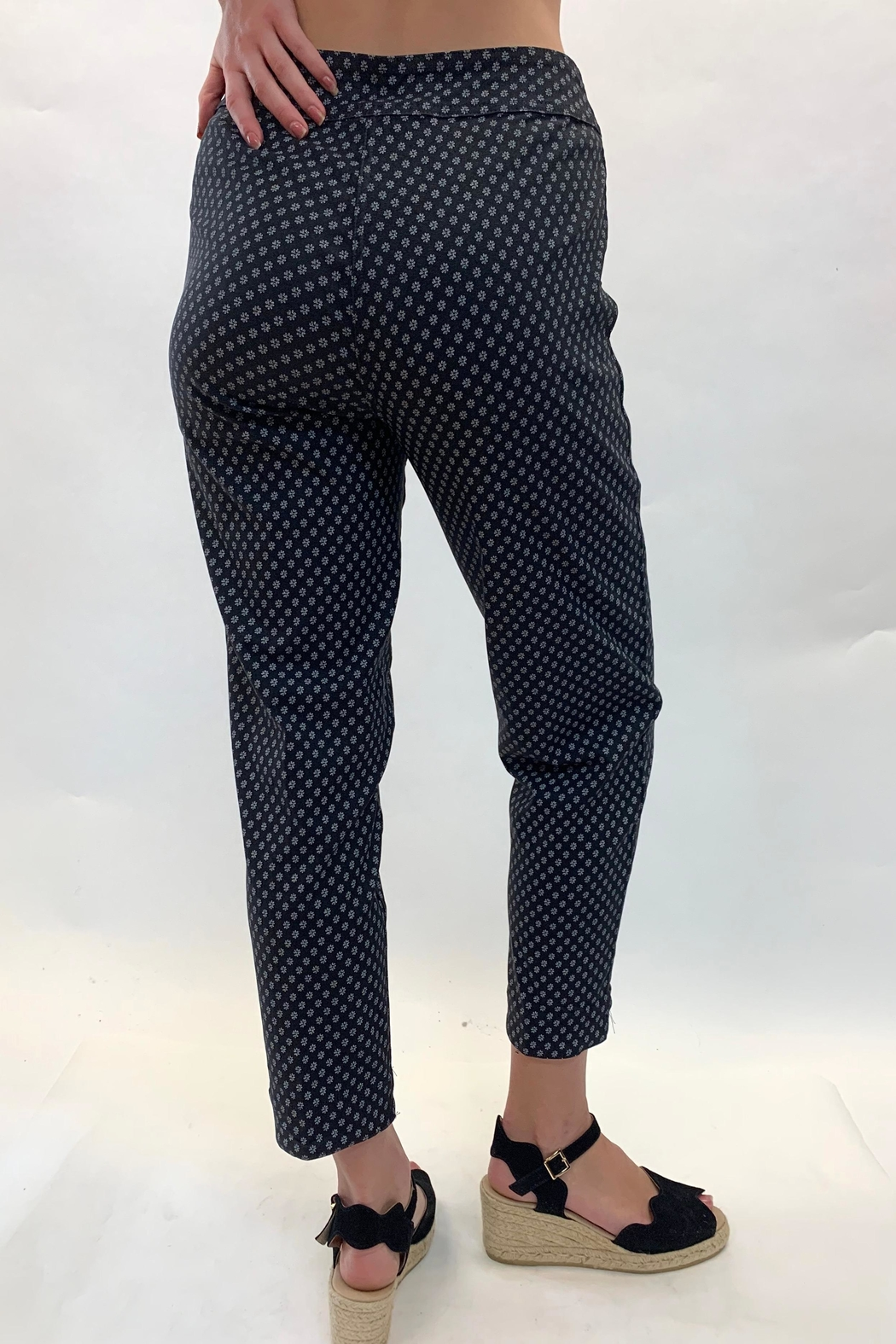 Multiples Reversible Daisy Pant - Front Full Image