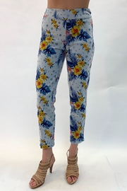 Multiples Reversible Print Pants - Front cropped