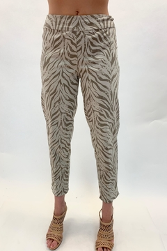 Multiples Zebra Patterned Pant - Product List Image