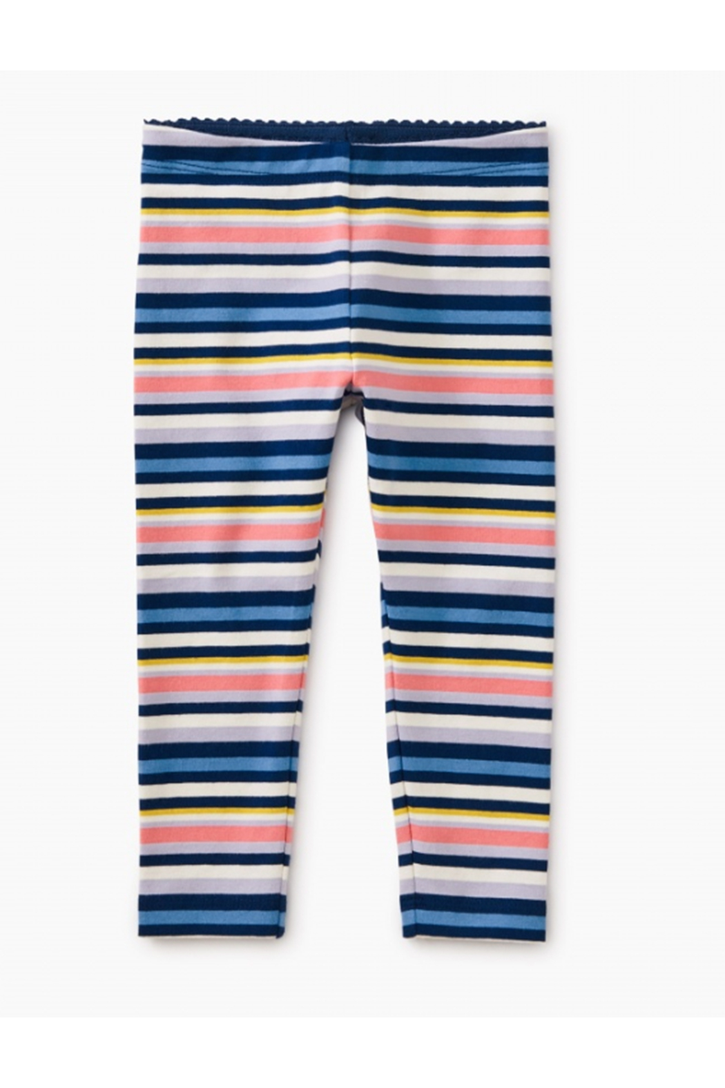 Tea Collection Multistripe Baby Leggings - Front Full Image