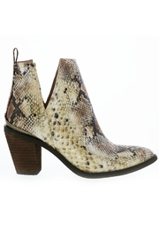 Very Volatile Mumba Snake Bootie - Front cropped
