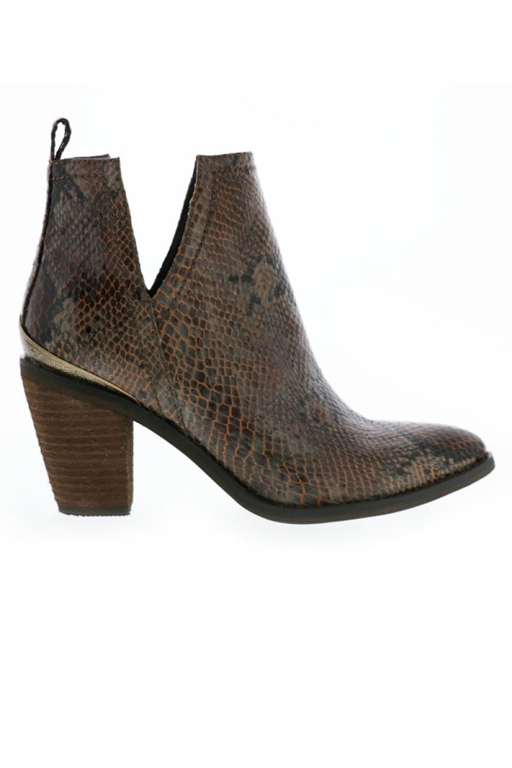 Very Volatile Mumba Snake Bootie - Front Cropped Image