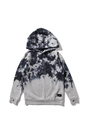 Munster Grey Marbled Hooded Sweatshirt - Product Mini Image