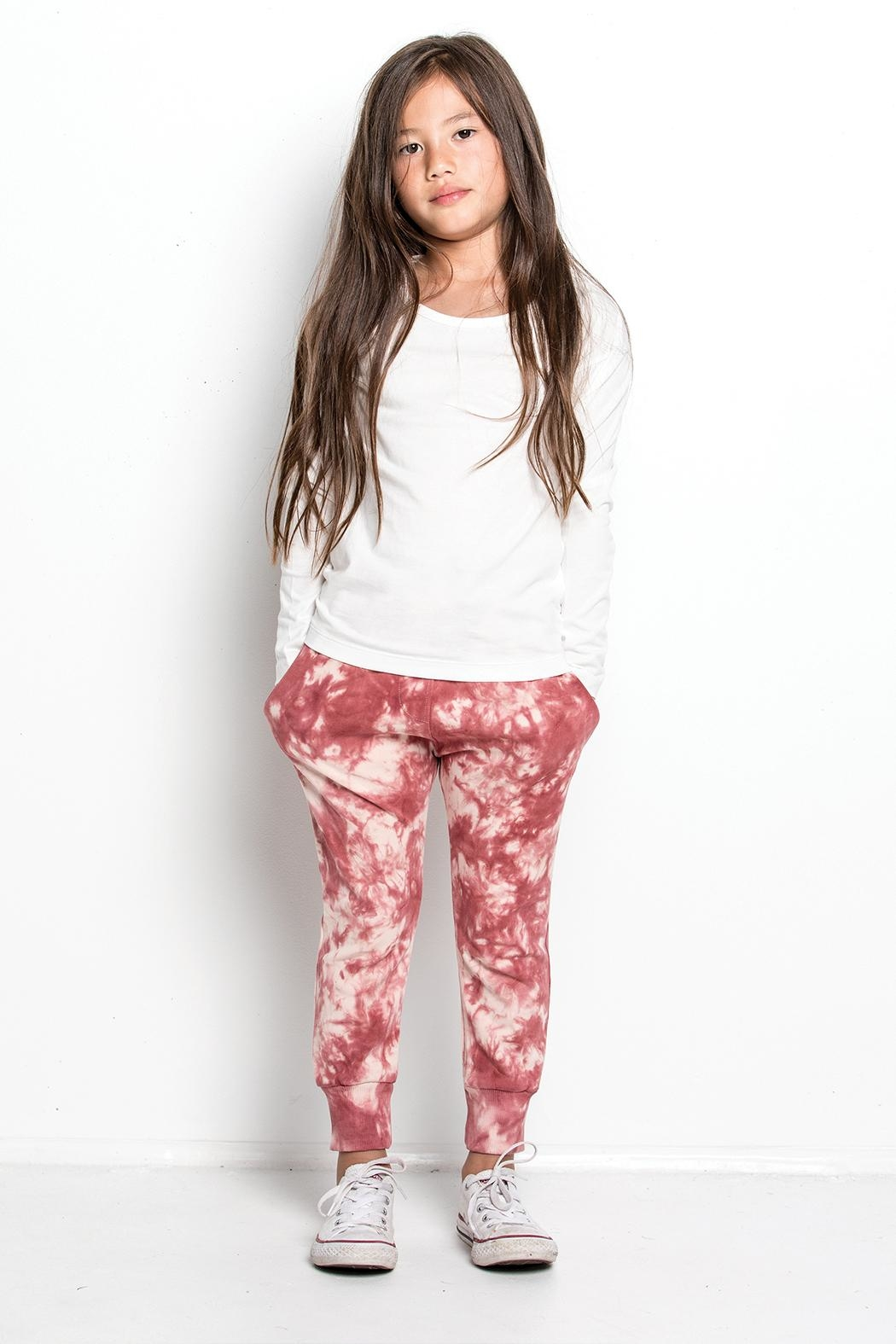 Munster Tie Dye Sweatpants - Side Cropped Image