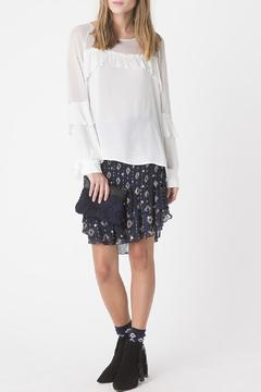 Shoptiques Product: Blouse With Ruffles