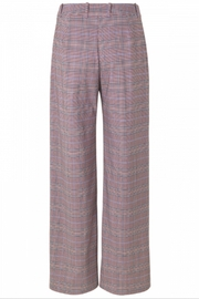 Munthe Checkered Pants - Back cropped