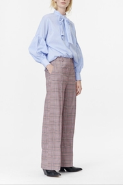 Munthe Checkered Pants - Front cropped