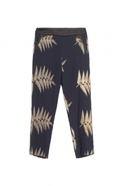 Munthe Embroidered Pants - Product Mini Image