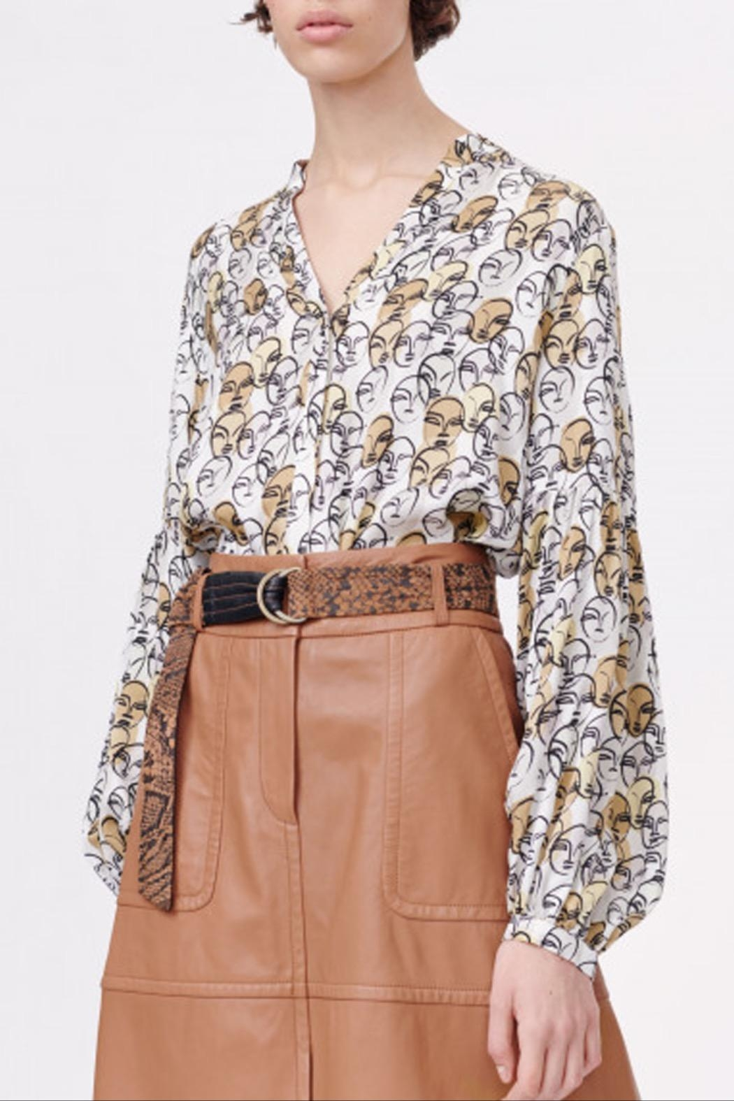 Munthe Face It Blouse - Front Cropped Image