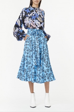 Munthe Feminine Skyblue Skirt - Product List Image