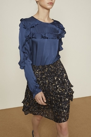 Munthe Georgeous Nightblue Blouse - Product Mini Image