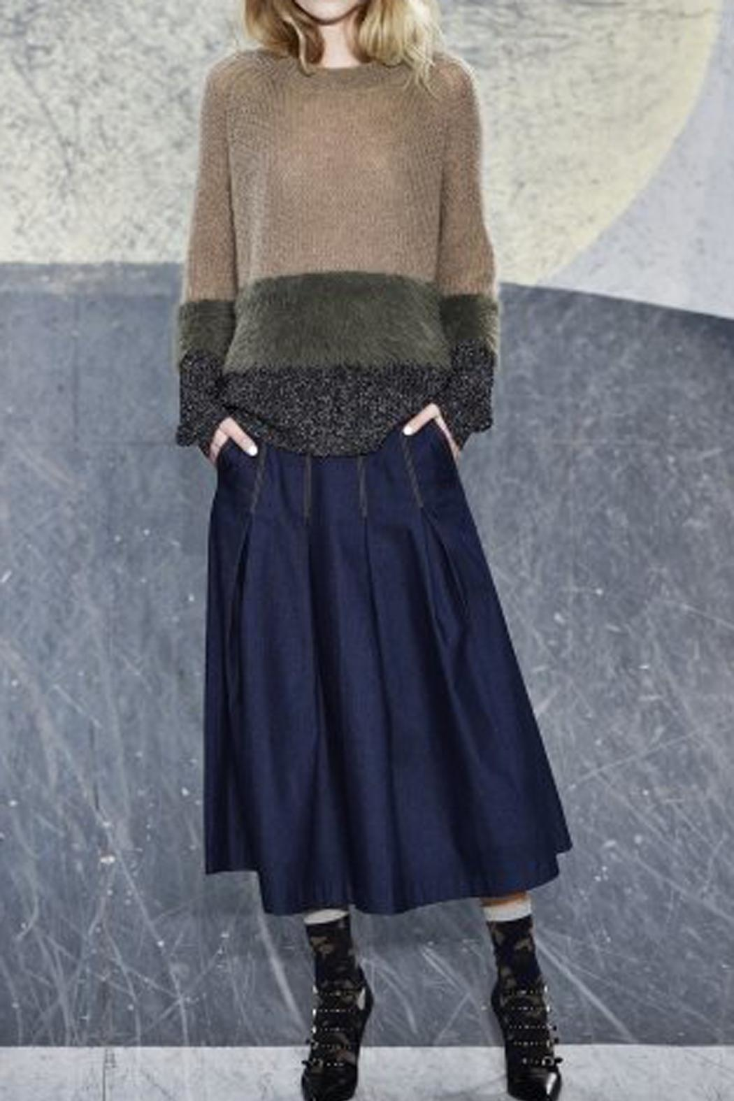 Munthe Gorgeous Sweater - Front Cropped Image