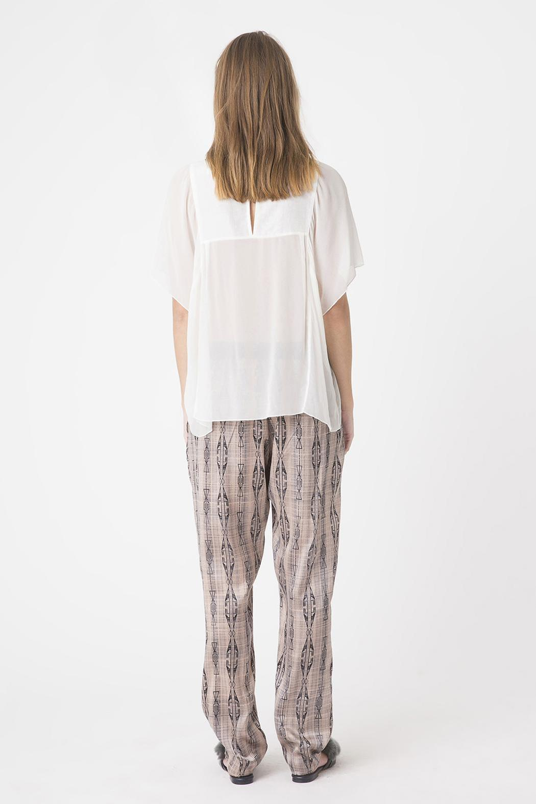 Munthe Silk Pants - Front Full Image
