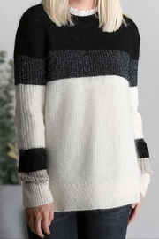 Munthe Soft Ivory Sweater - Product Mini Image
