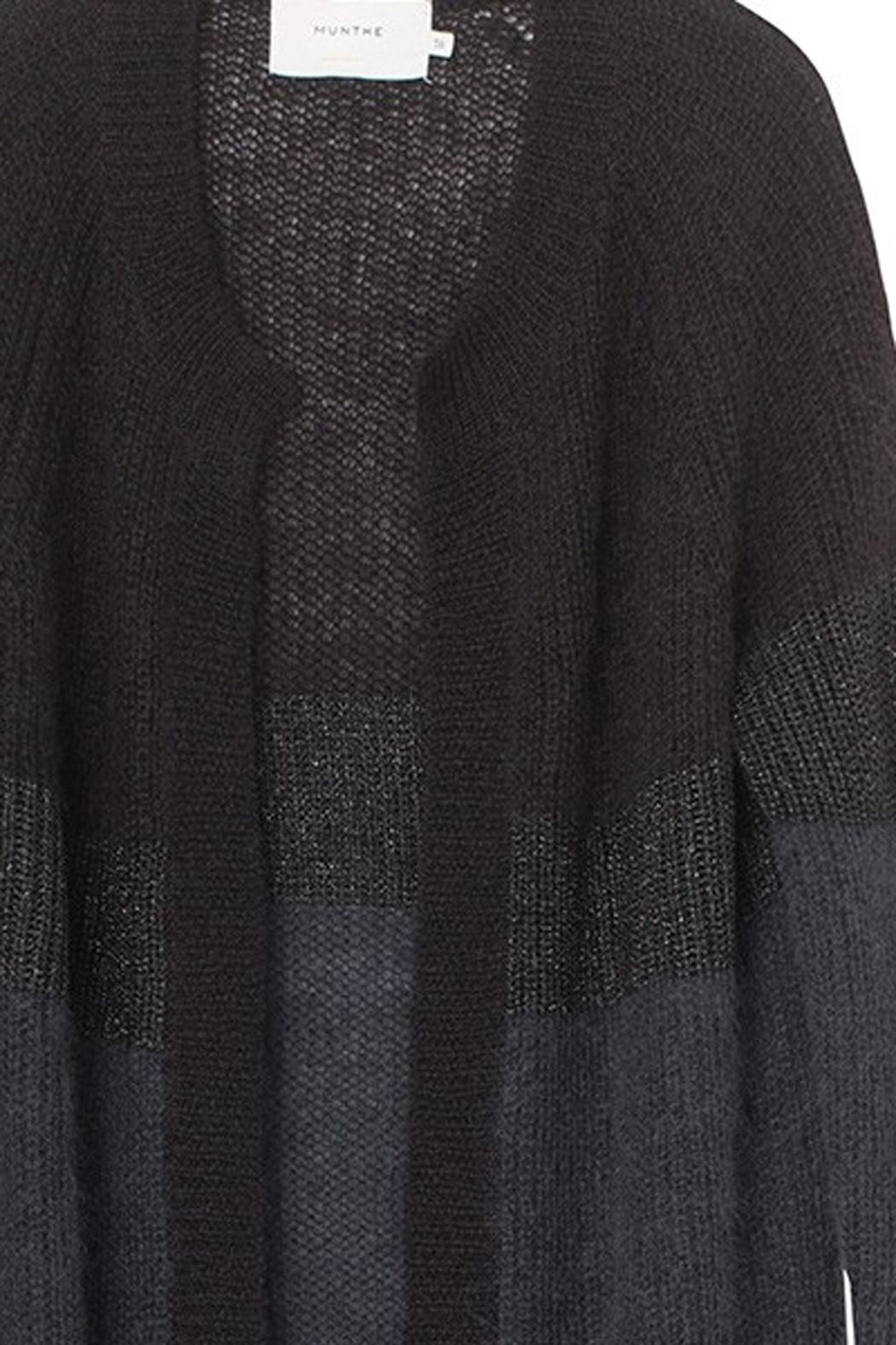 Munthe Soft Mohair Cardigan - Side Cropped Image