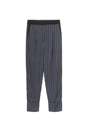 Munthe Hilary Stripe Pants - Front full body