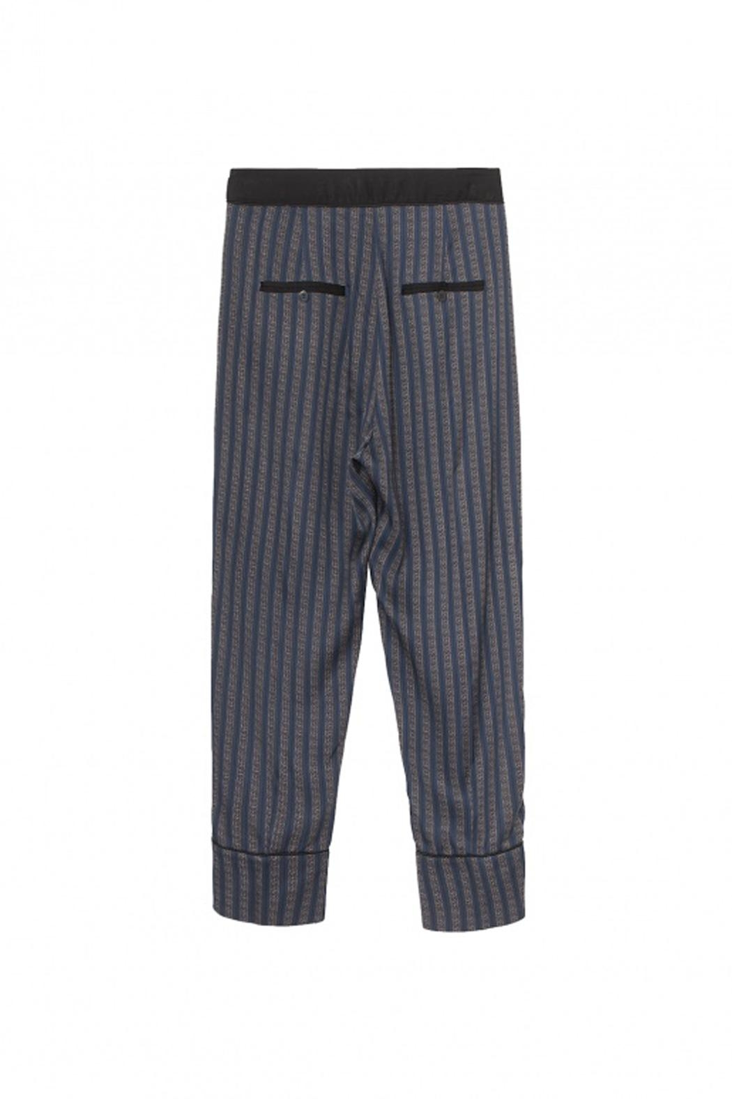 Munthe Hilary Stripe Pants - Side Cropped Image