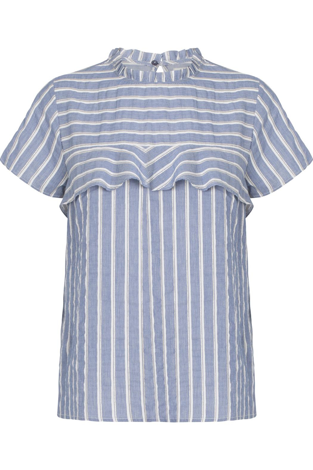 Munthe Striped Blouse - Front Full Image