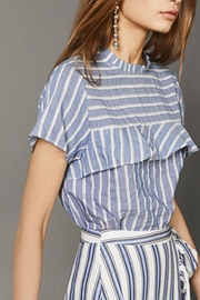 Munthe Striped Blouse - Front cropped