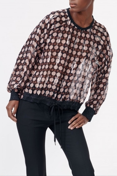 Munthe Stunnung Silky Blouse - Product List Image