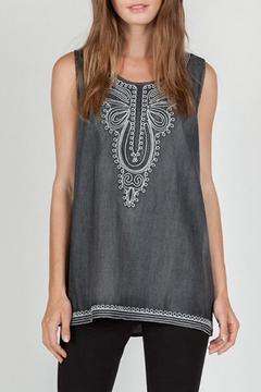 Shoptiques Product: Embroidered Sleeveless Top