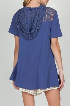 Shoptiques Product: Lace Hooded Top