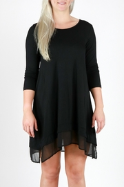 Mur Monoreno Chiffon Hem Dress - Product Mini Image