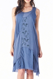 Mur Monoreno Embroidered Layered Dress - Product Mini Image