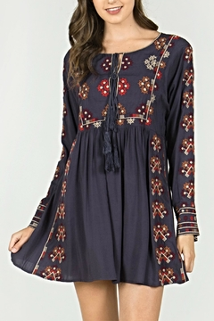 Shoptiques Product: Embroidered Bohemian Dress