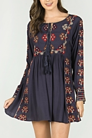 Mur Monoreno Embroidered Bohemian Dress - Product Mini Image