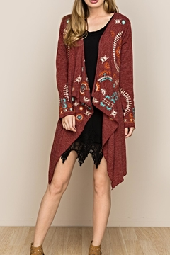 Mur Monoreno Eclipse Embroidered Cardigan - Product List Image