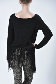Mur Monoreno Fringed Sweater - Side cropped