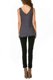 Mur Monoreno Lace Edged Top - Front full body