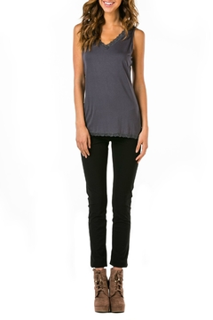Mur Monoreno Lace Edged Top - Product List Image