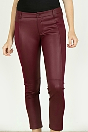 Mur Monoreno Leather Fabric Pants - Product Mini Image